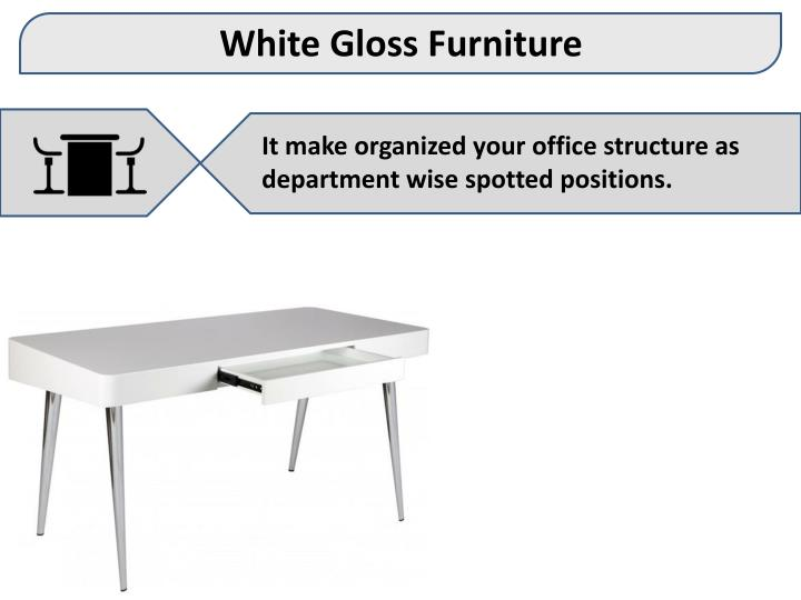White Gloss Furniture