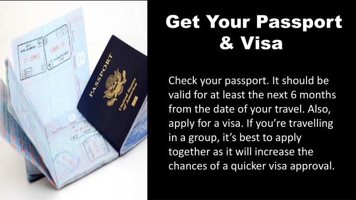 Get Your Passport & Visa