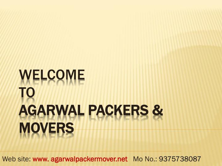 Welcome to agarwal packers movers