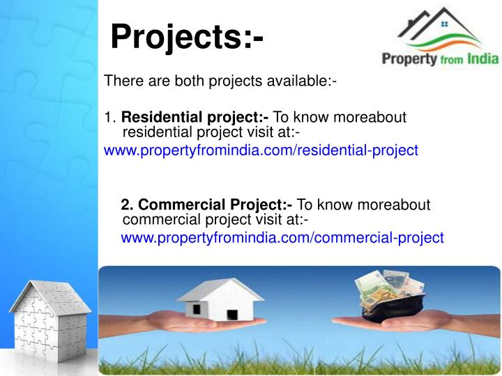 Projects:-