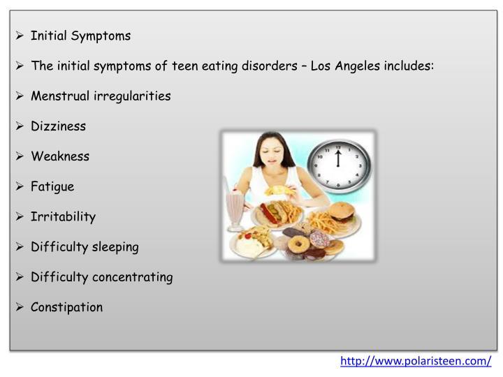 Initial Symptoms
