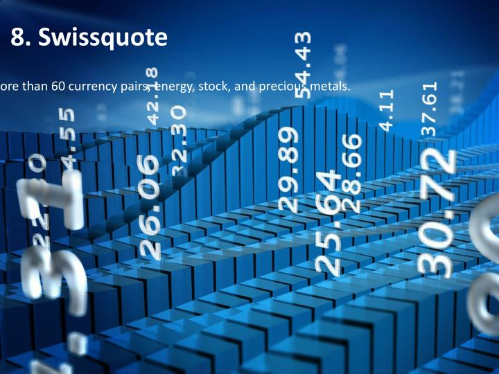 8. Swissquote