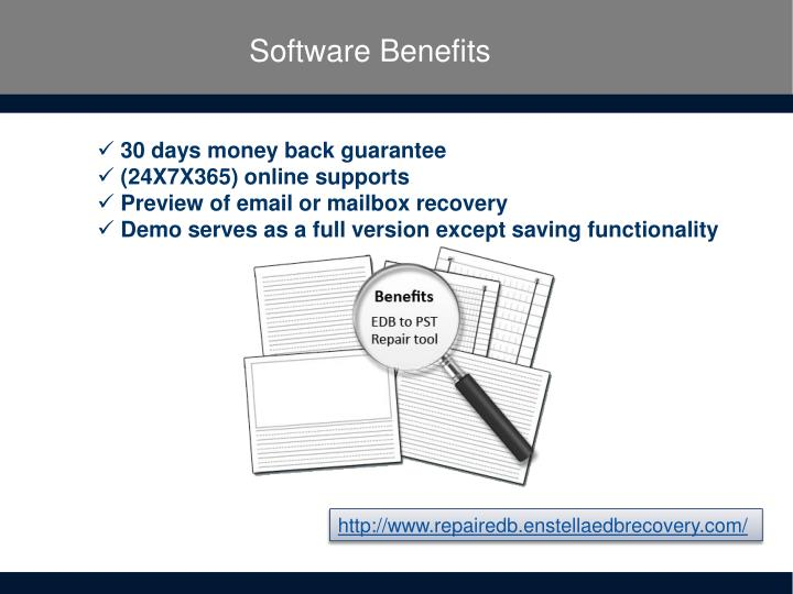 Software Benefits