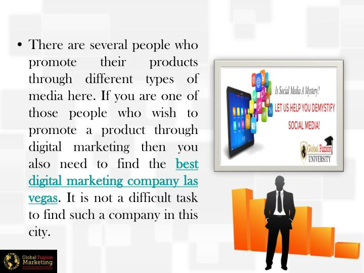There are several people who promote their products through different types of media here. If you are one of those people who wish to promote a product through digital marketing then you also need to find the