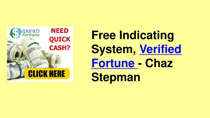 Free Indicating System,