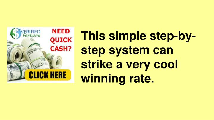 This simple step-by-step system can strike a very cool