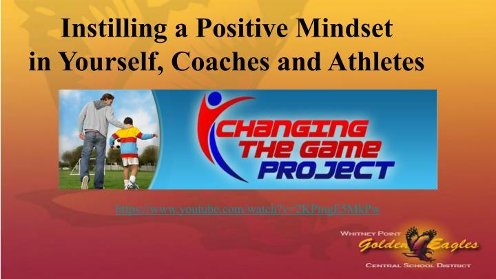 Instilling a Positive Mindset