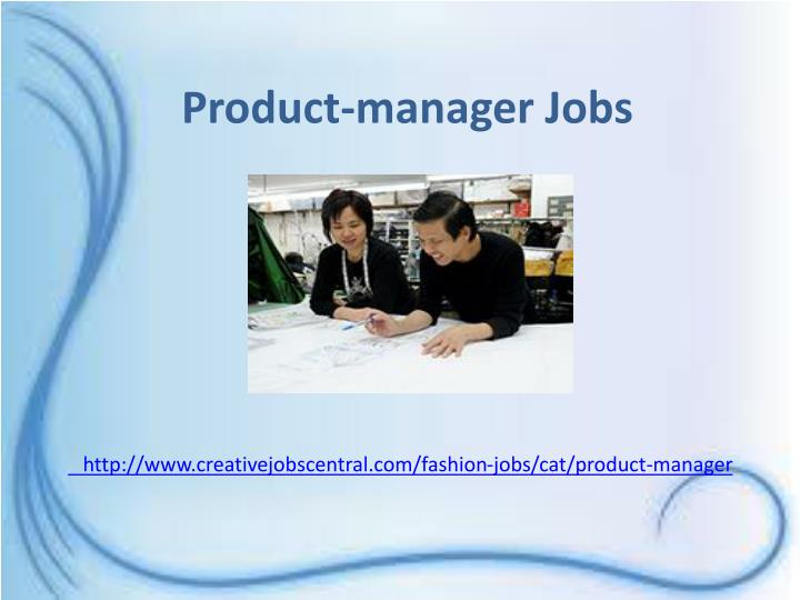 Product-manager Jobs