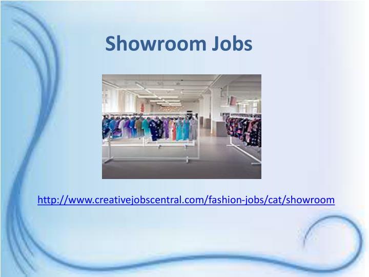 Showroom Jobs