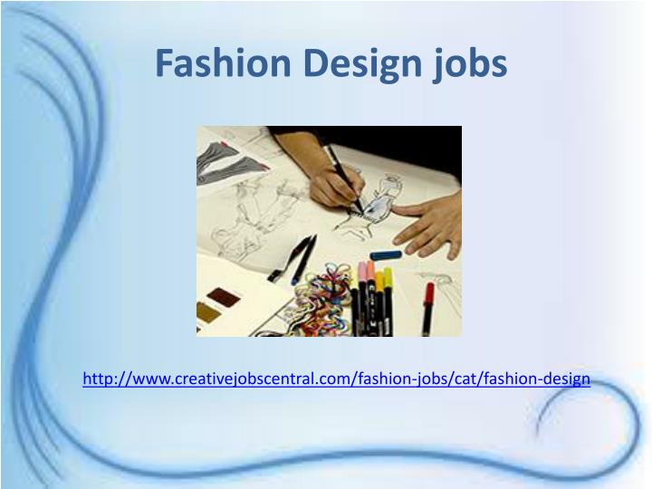 Fashion Design jobs