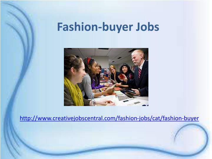 Fashion-buyer Jobs