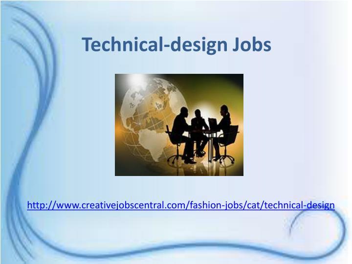 Technical-design Jobs