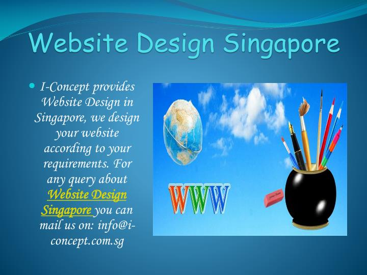 Website Design Singapore
