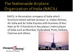 the nationwide airplane organization of india nacil