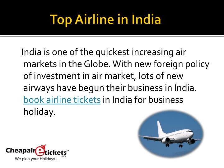 Top airline in india