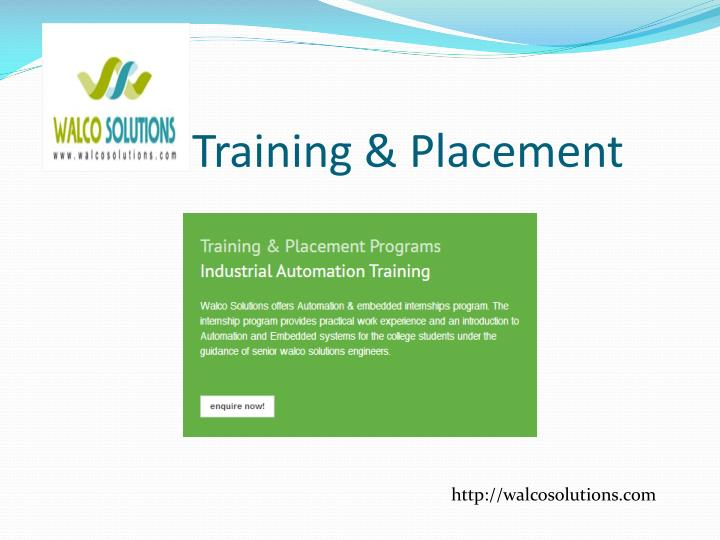 Training & Placement