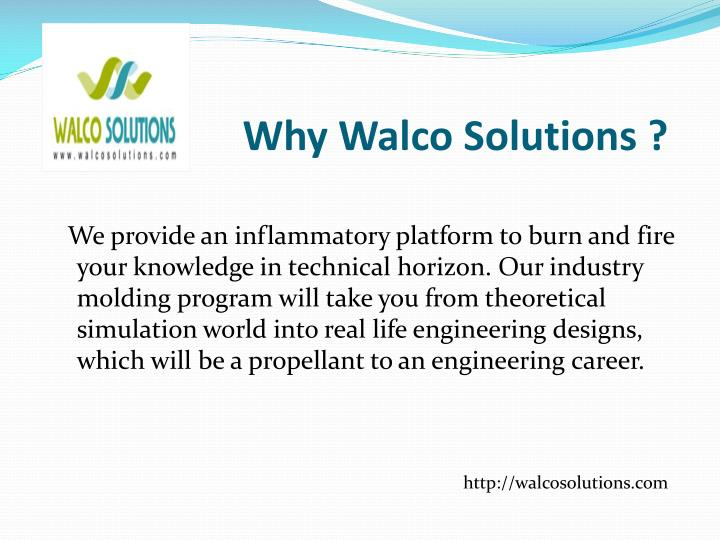 Why walco solutions