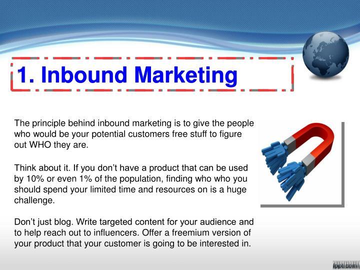 1. Inbound Marketing