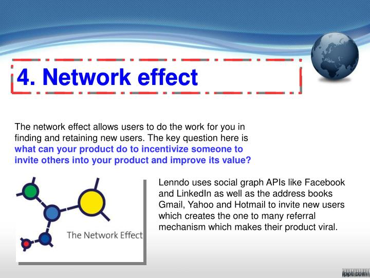 4. Network effect
