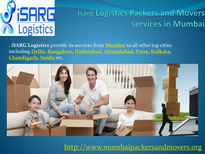 I sarg logistics packers and movers services in mumbai