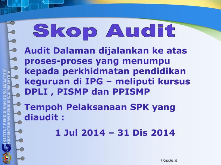 Skop Audit