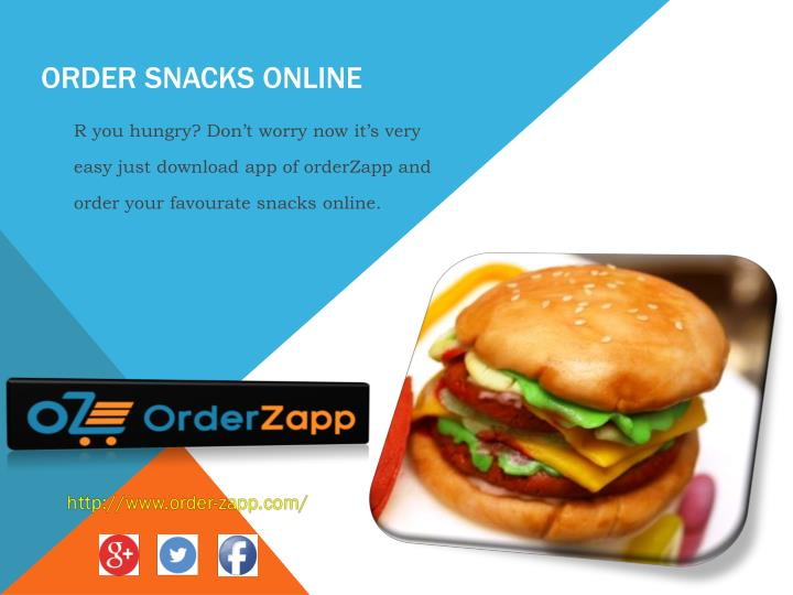 order snacks online