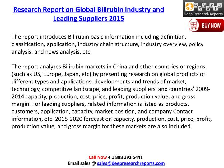 Research Report on Global