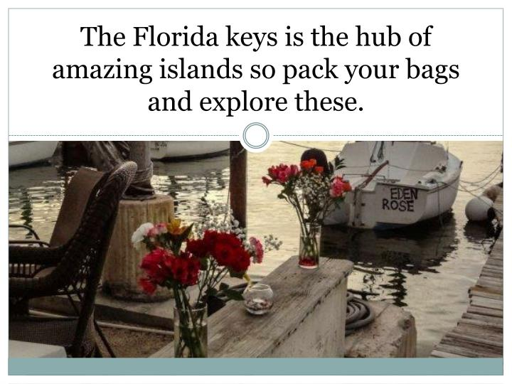 The Florida keys is the hub of amazing islands so pack your bags and explore these.