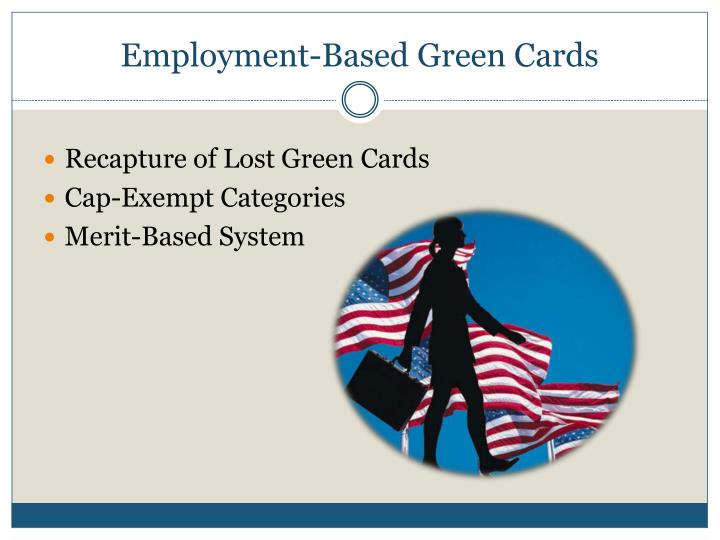 Employment-Based Green Cards