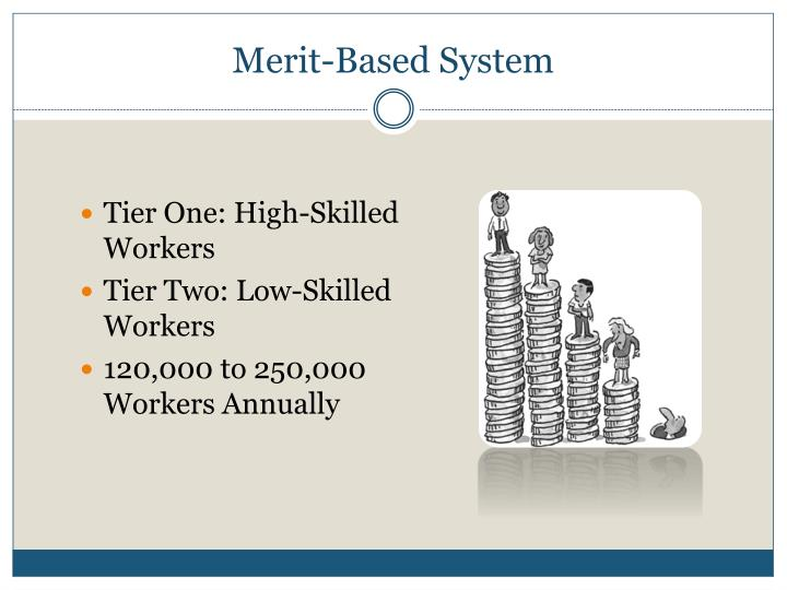Merit-Based System