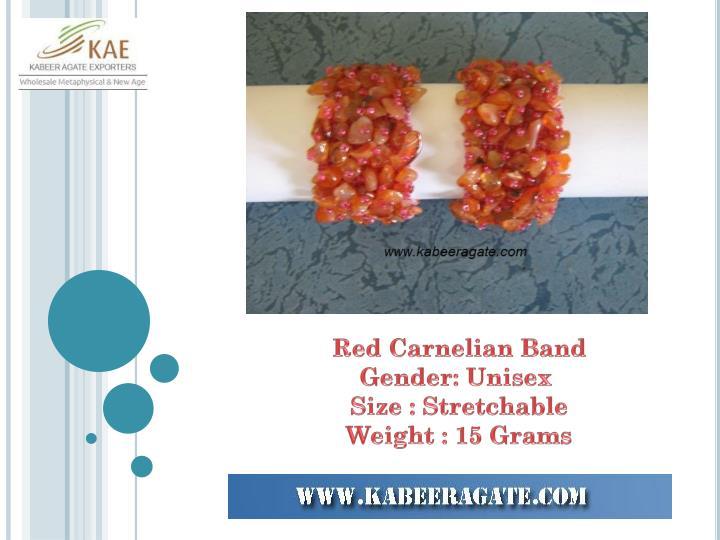 Red Carnelian Band