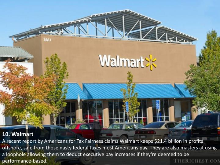 10. Walmart