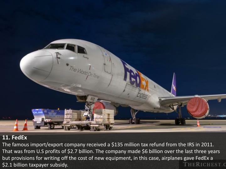 11. FedEx
