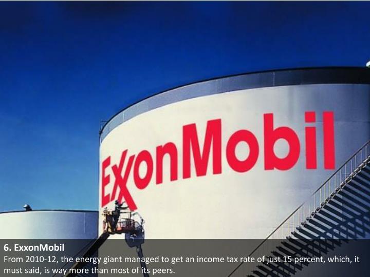 6. ExxonMobil