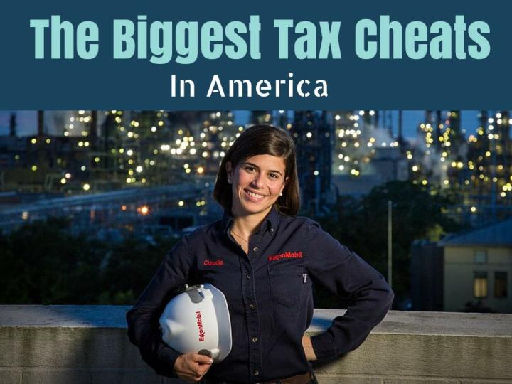 The 13 biggest tax cheats in america
