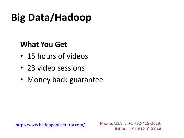 Big Data/