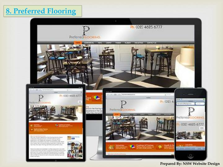 8. Preferred Flooring