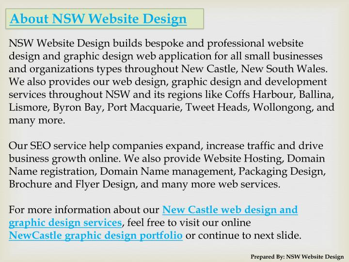 About NSW Website Design