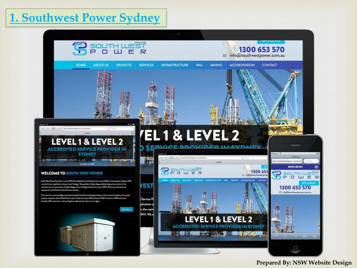 1. Southwest Power Sydney