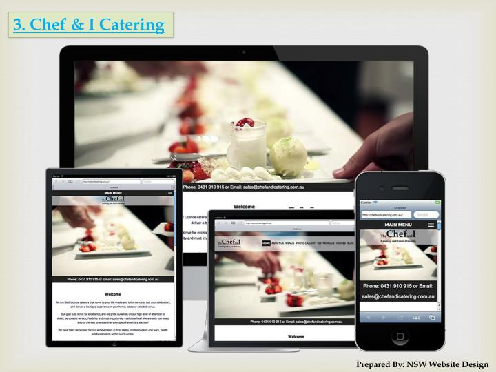 3. Chef & I Catering