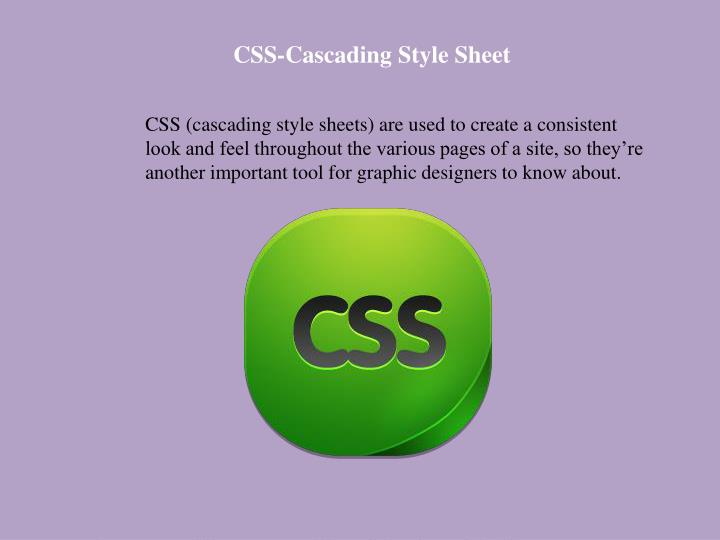 CSS-Cascading Style Sheet