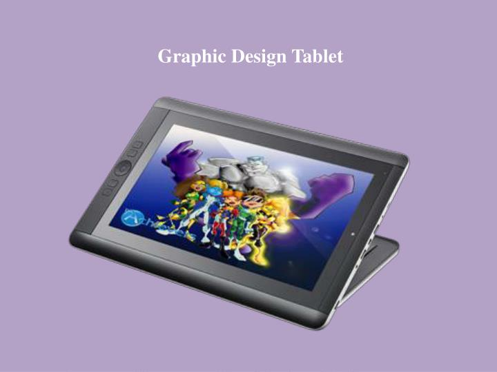 Graphic Design Tablet