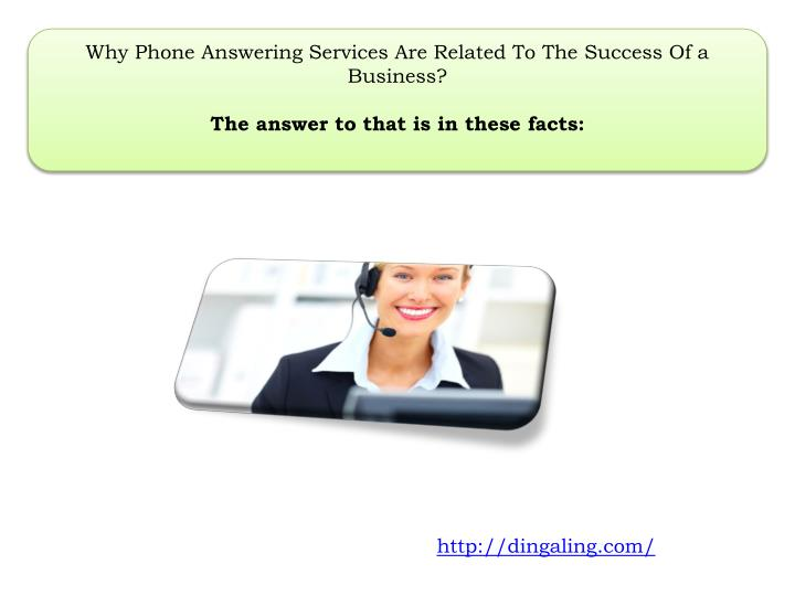 Why Phone Answering Services Are Related To The Success Of a Business