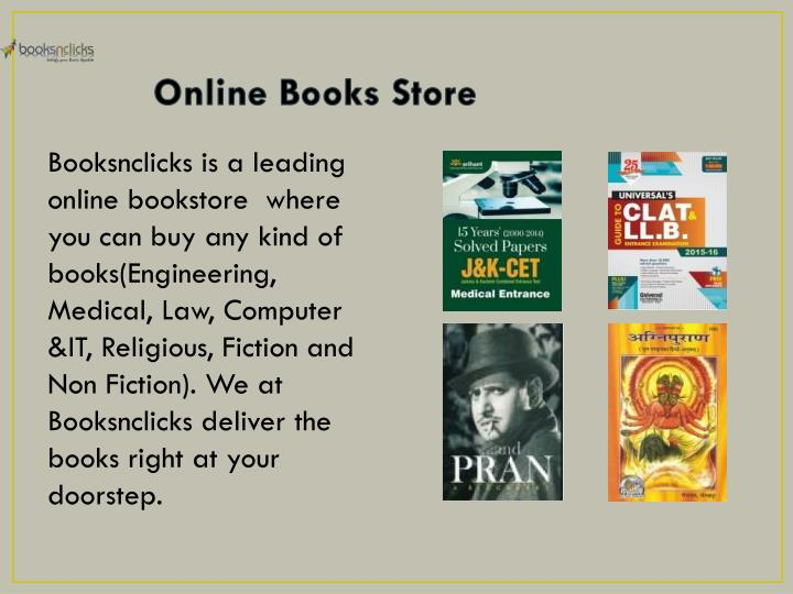 Online books store