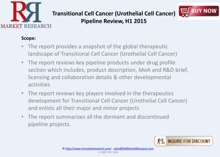 Transitional Cell Cancer (