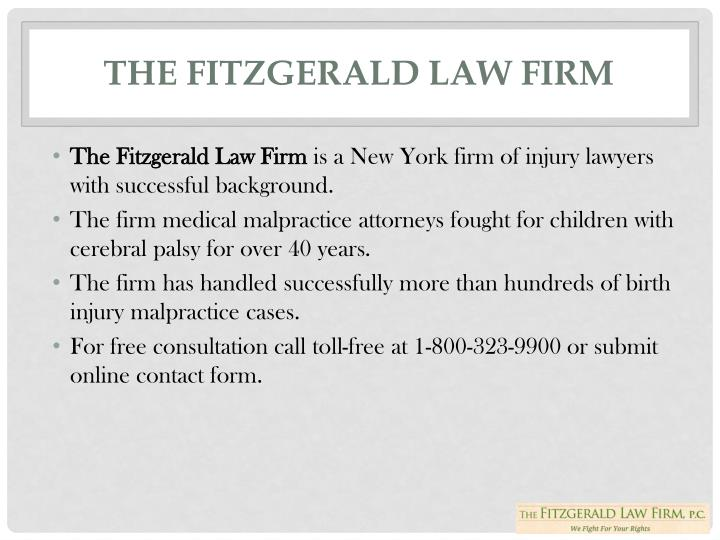 The Fitzgerald Law Firm