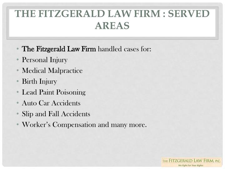 THE FITZGERALD LAW