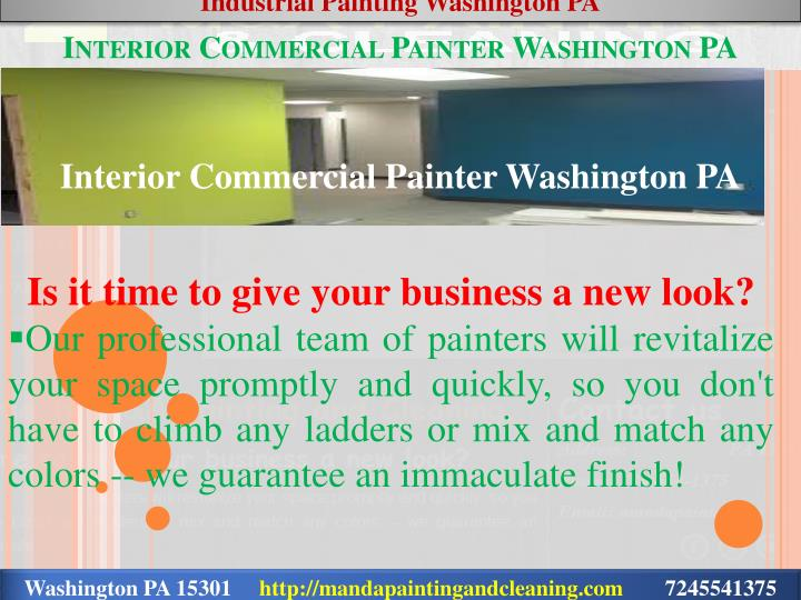 Industrial Painting Washington PA