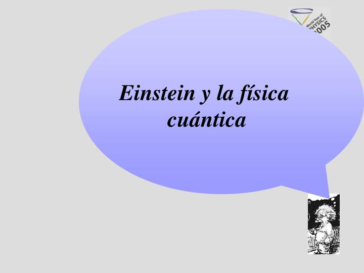 Einstein y la física