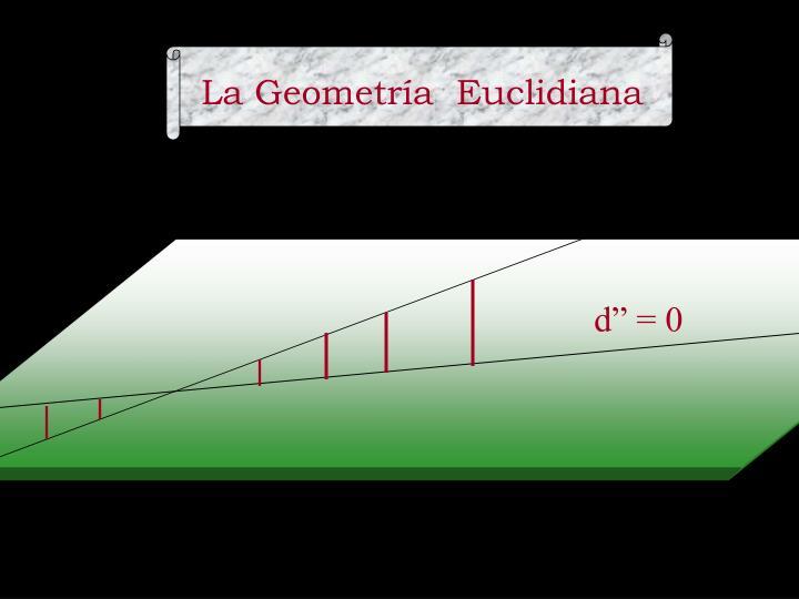 La Geometría  Euclidiana